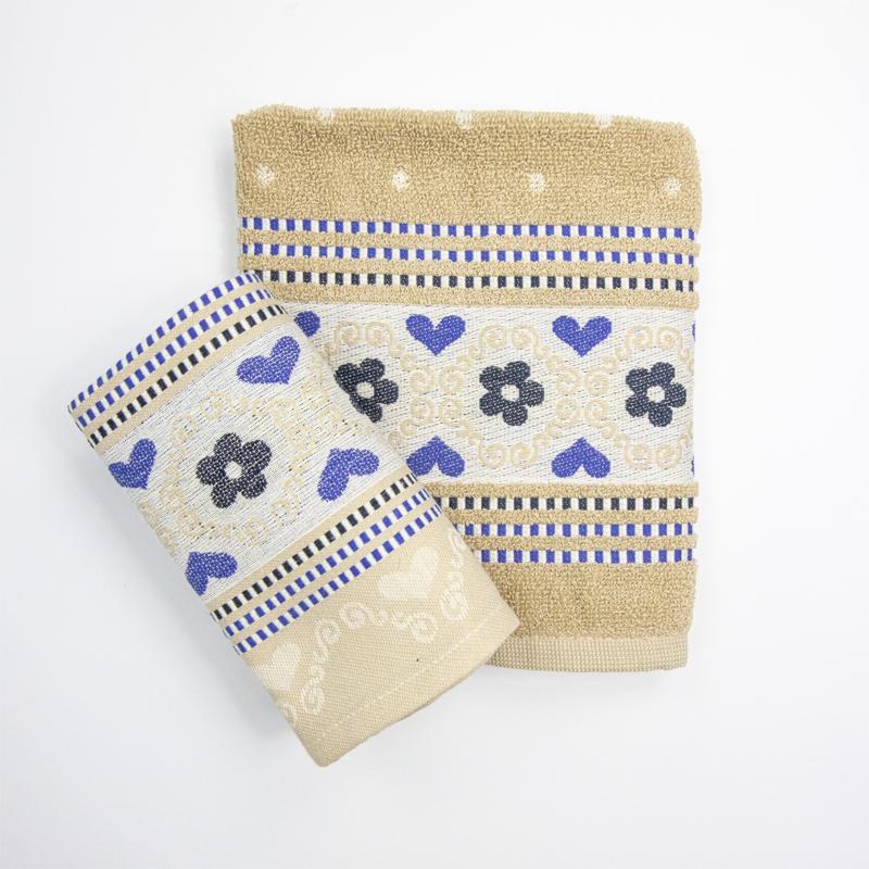 Theedoek-handdoek-geel-blauw-bloemen-bunzlau-hoekje-giessenburg-graanbuurt