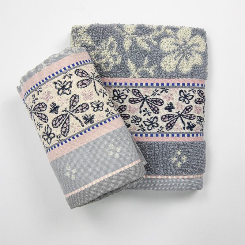Theedoek-handdoek-roze-grijs-vlinders-bunzlau-hoekje-giessenburg-graanbuurt