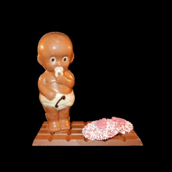 Chocolade-baby-op-reep 10,95