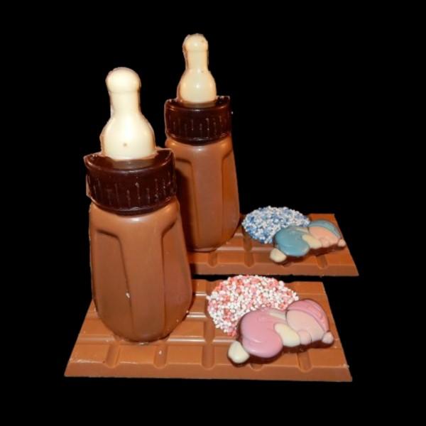 Chocolade-zuigfles 9,95