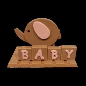 chocolade figuren geboorte