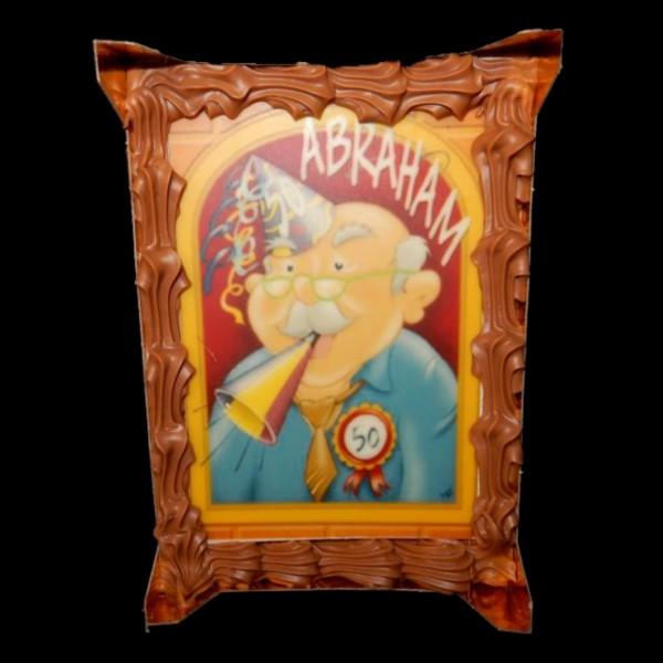 Abraham-plak in vensterdoos 12,95