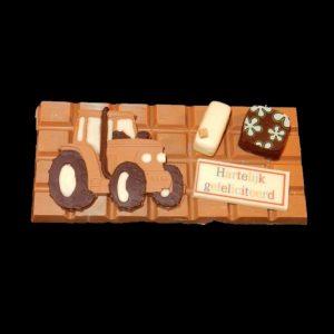 chocolade voertuigen